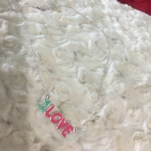 """Other - NWT """"1 LOVE """" Teen Necklace chain 18"""" long"""